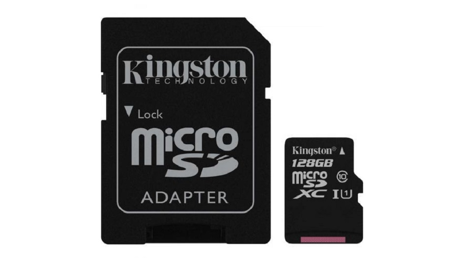 Kingston Canvas Select SDCS-128GB - Rue Montgallet