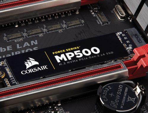 Corsair Force MP500 960 Go, de la puissance et une capacité large