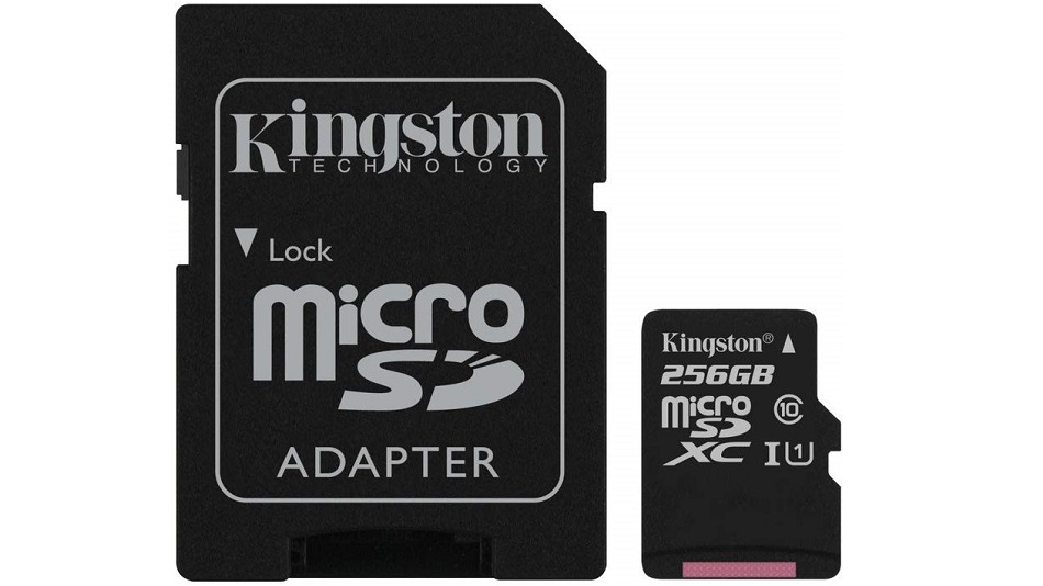 Kingston Canvas Select SDCS-256GB - Rue Montgallet