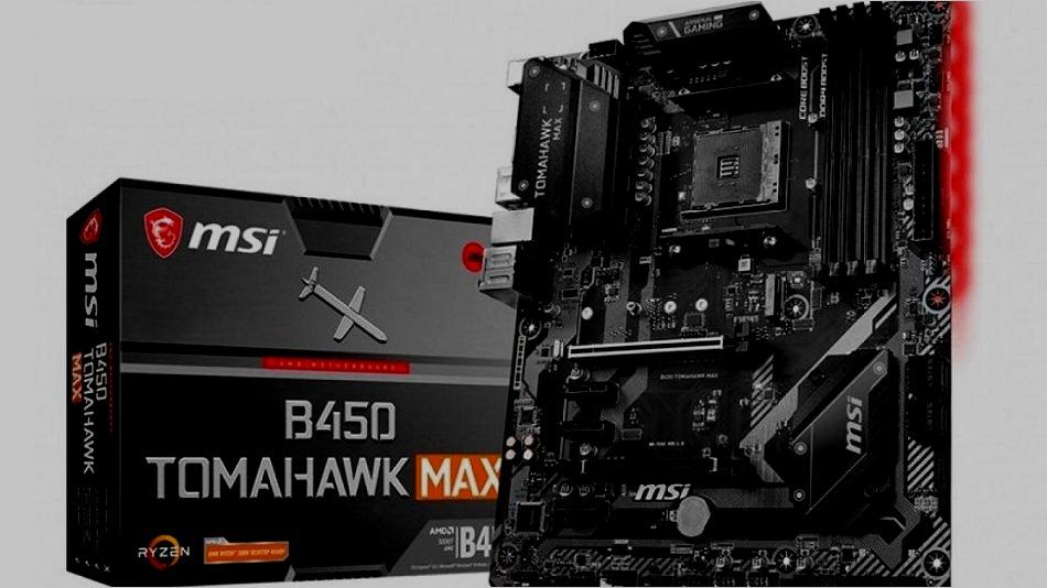 MSI B450 TOMAHAWK Max - Rue Montgallet