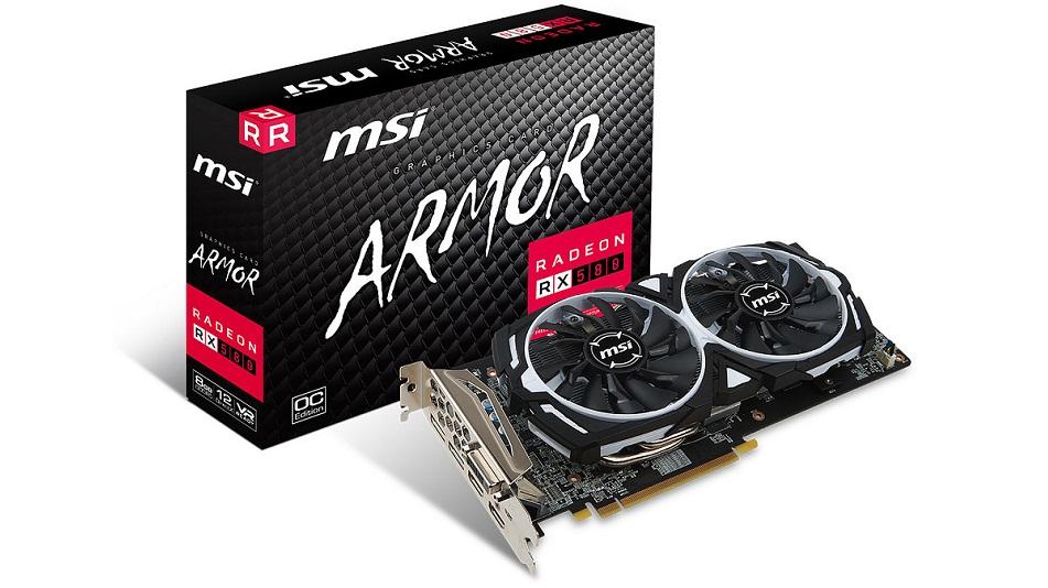 MSI Radeon RX 580 ARMOR 8G OC - Rue Montgallet