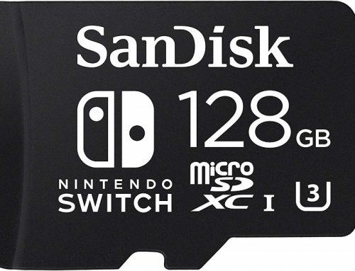 MicroSDXC pour Nintendo Switch 128 Go de SanDisk: une carte inédite