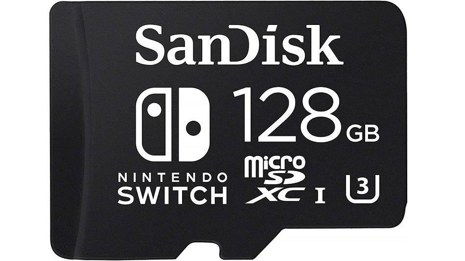 SanDisk microSDXC Pour Nintendo Switch 128 Go - Rue Montgallet