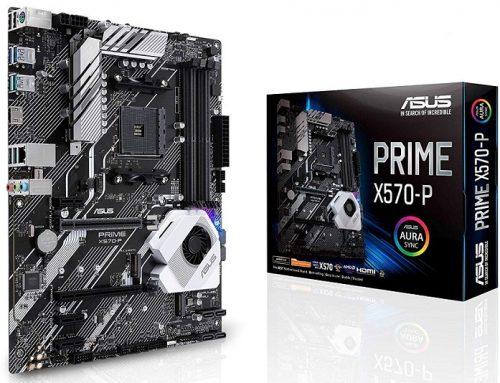 Asus PRIME X570-P, une carte mère puissante