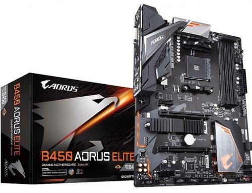 Gigabyte B450 Elite Aorus, une carte mère qui a du caractère