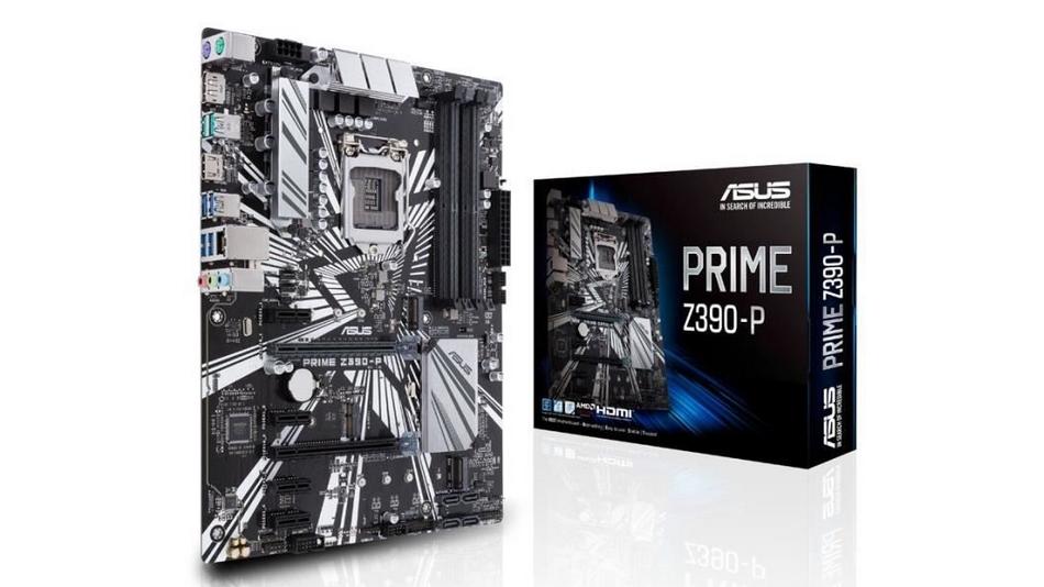 Asus PRIME Z390-P Rue montgallet