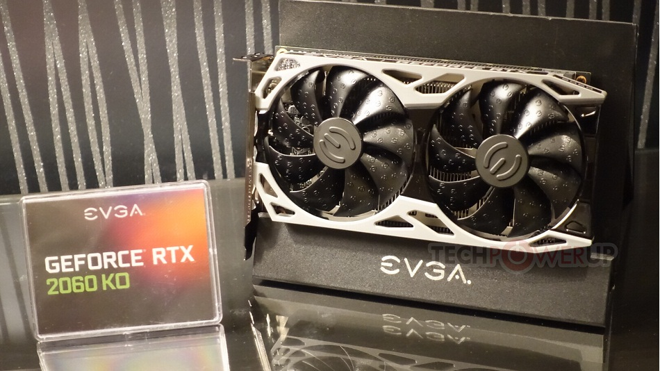 EVGA GeForce RTX 2060 KO - Rue Montgallet