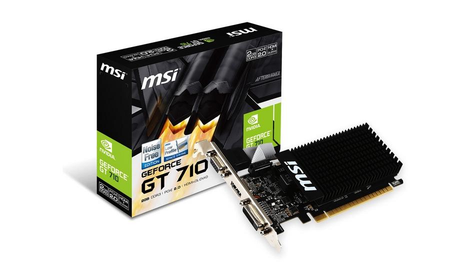 MSI GeForce GT 710 - 2 Go rue montgallet