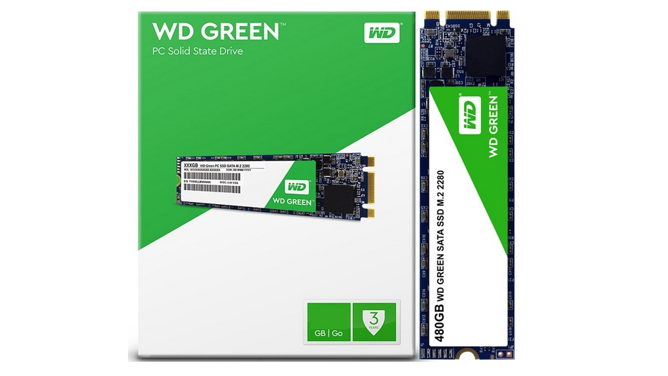 SSD WD Green 480 Go Rue montgallet