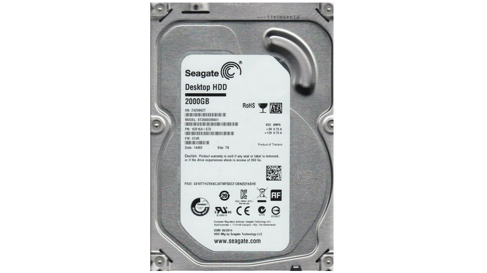 Seagate 2 To Barracuda (ST2000DM001) Rue montgallet