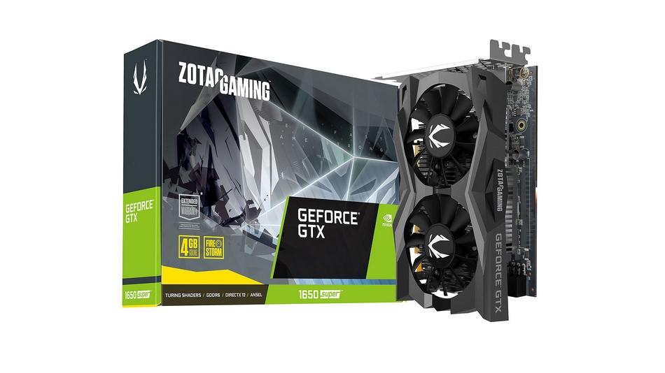 Zotac GeForce GTX 1650 SUPER Twin Fan rue montgallet
