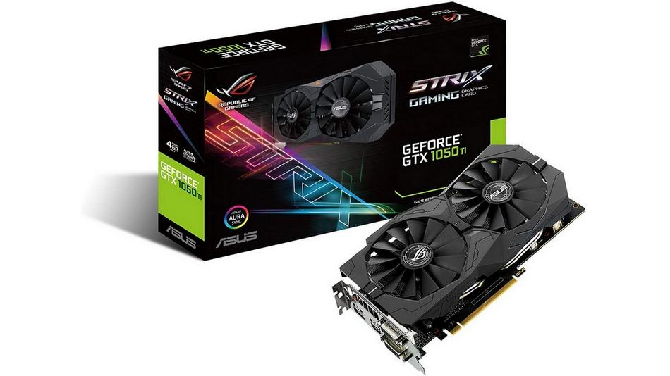 Asus GeForce GTX 1050 Ti - ROG STRIX-GTX1050TI-4G-GAMING Rue montgallet