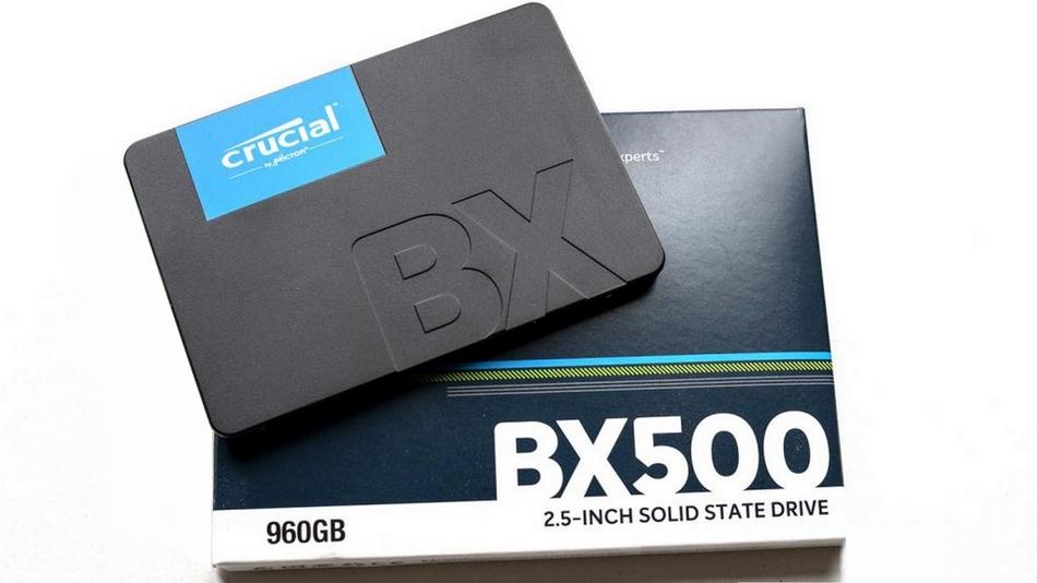 Crucial BX500 960 Go Rue montgallet