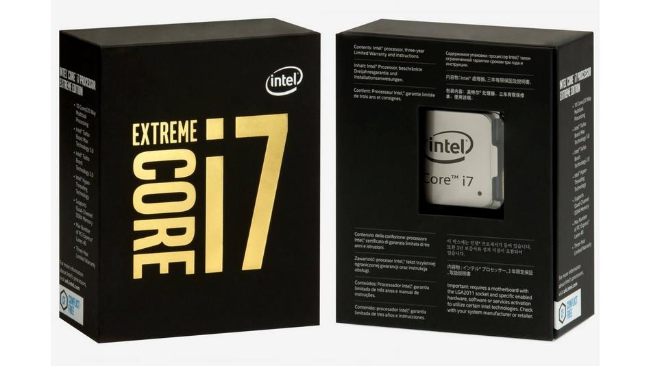 Intel Core i7-6950X (3 GHz) rue montgallet