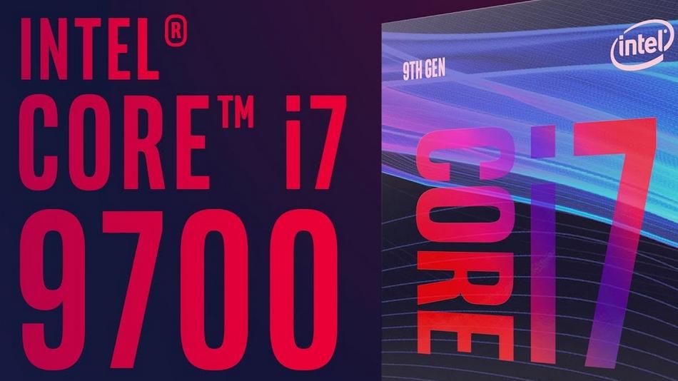 Intel Core i7-9700 (3.0 GHz 4.7 GHz) rue montgallet