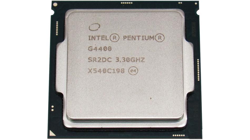 Intel Pentium G4400 Rue montgallet