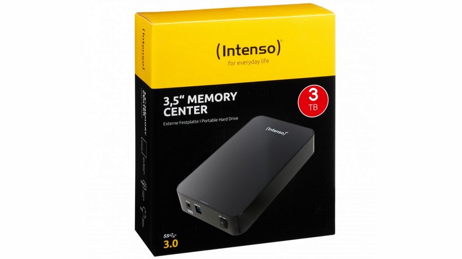 Intenso Memory Center 3 To Rue montgallet