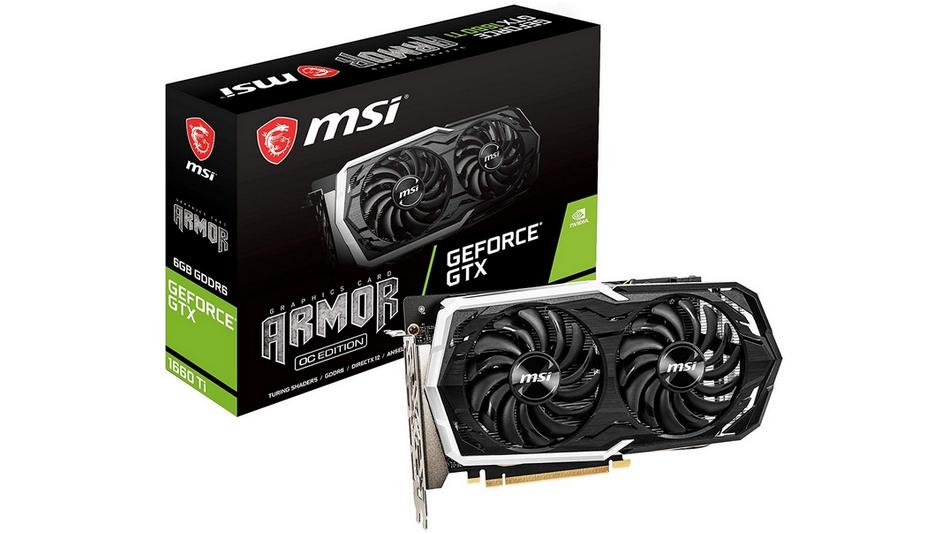 MSI GeForce GTX 1660 ARMOR 6G OC rue montgallet