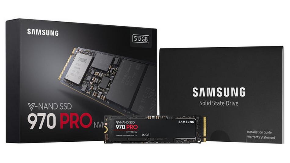 Samsung SSD 970 PRO M.2 PCIe NVMe 512 Go Rue montgallet