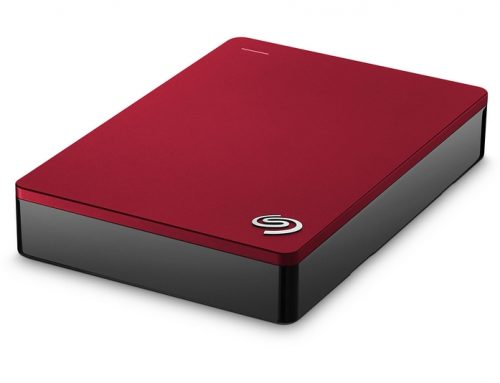 Seagate Backup Plus 4 To Rouge (USB 3.0), élégant et efficace