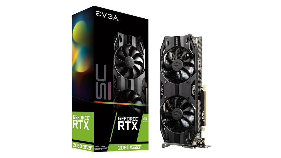 eVGA GeForce RTX 2060 SUPER SC ULTRA GAMING Rue montgallet