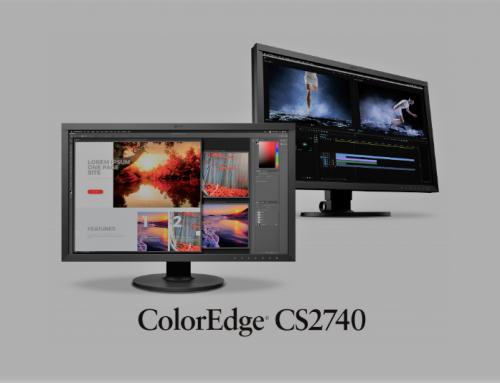 EIZO et son nouveau moniteur ColorEdge CS2740 27 pouces 4K UHD