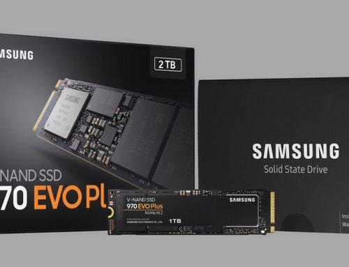 Samsung 970 EVO Plus, abordable et rapide