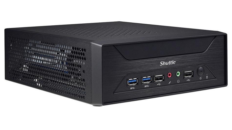 Shuttle XH110G (Intel H110 Express) rue montgallet