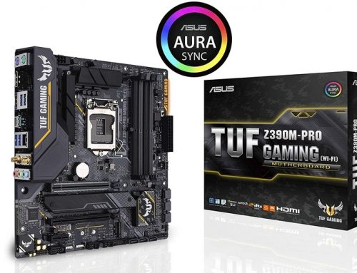 Asus TUF Z390M-PRO GAMING (WI-FI), petit, mais complet