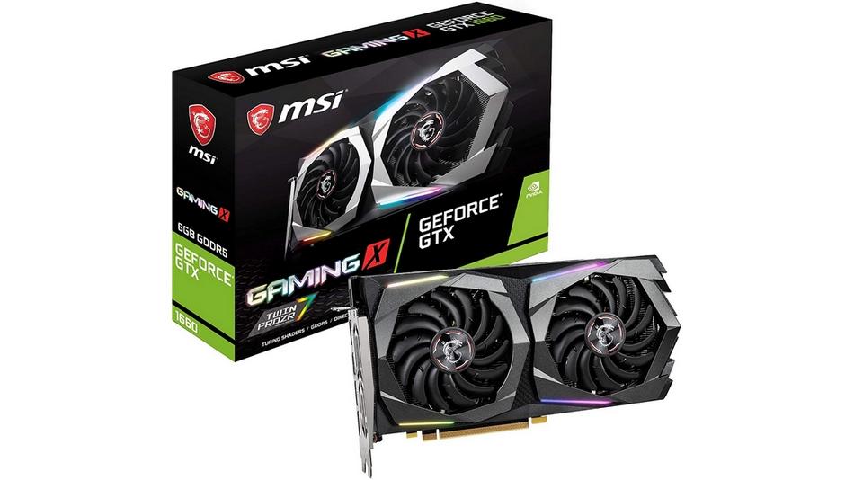 MSI GeForce GTX 1660 GAMING X 6G rue montgallet