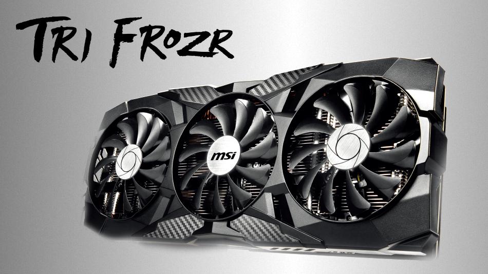 MSI GeForce RTX 2070 TRI FROZR rue montgallet