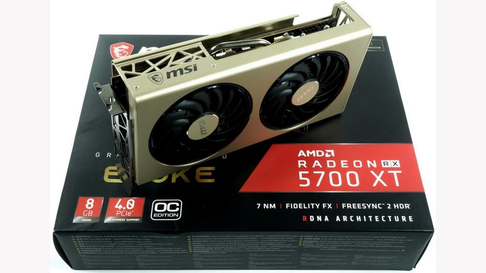 MSI Radeon RX 5700 XT EVOKE OC rue montgallet