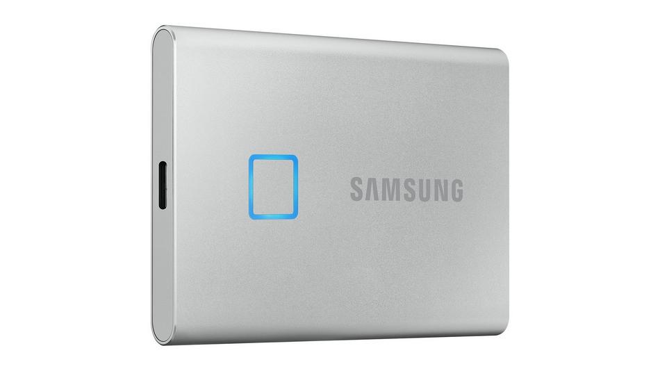 Samsung Portable SSD T7 Touch 500 Go Argent rue montgallet