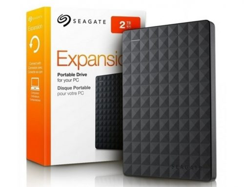 Seagate Portable Expansion 2 To, la base
