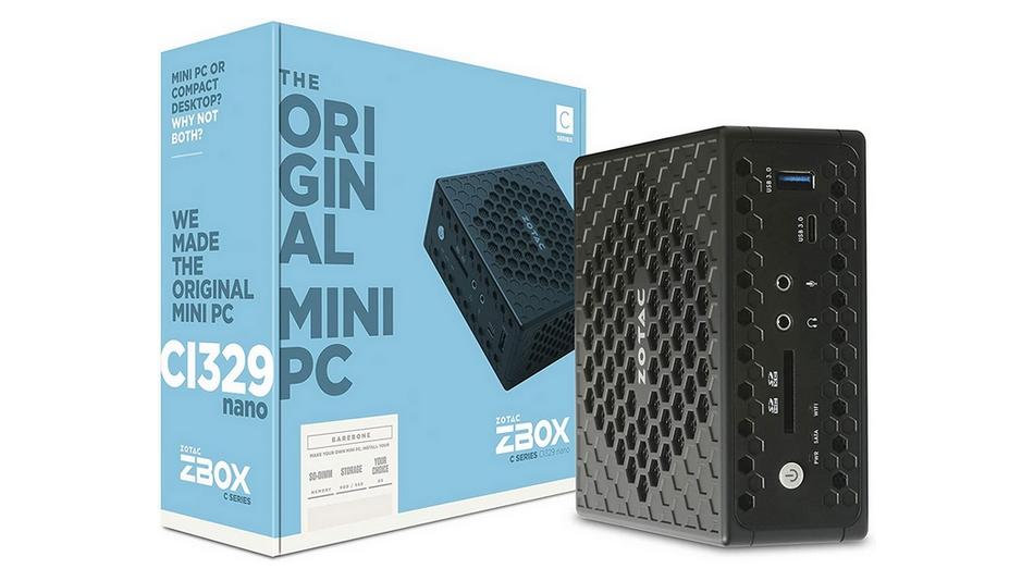 Zotac ZBOX CI329 Nano rue montgallet
