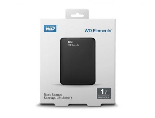 WD 1 To Elements (Black), une large capacité dans un petit format
