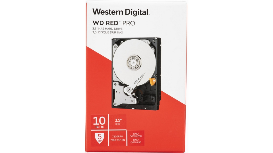 WD Red Pro 10 To rue montgallet