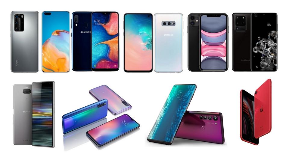 Meilleurs smartphones de 2020 rue montgallet