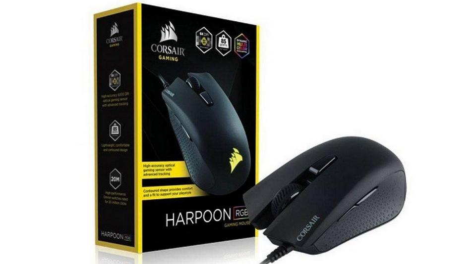 Corsair Gaming Harpoon RGB - Rue Montgallet