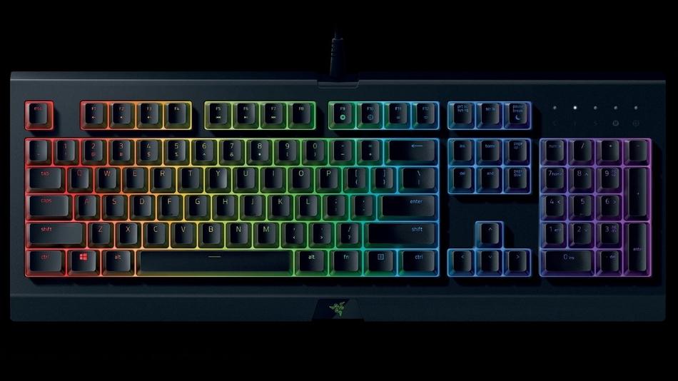 meilleurs claviers 2020 - Razer Cynosa Chroma - Rue Montgallet