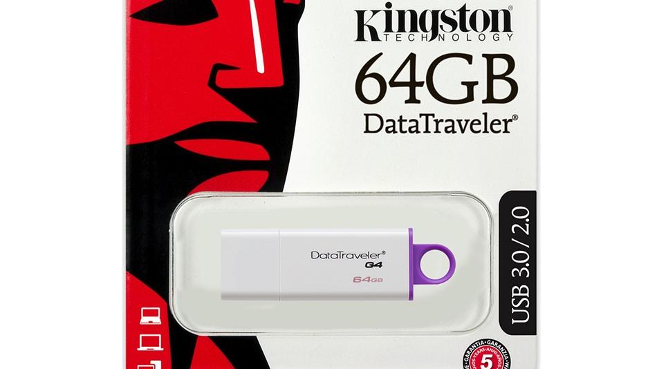 Kingston DataTraveler G4 64Go - rue montgallet