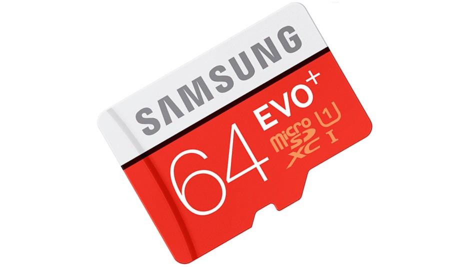 Samsung Evo Plus Micro SDXC 64 Go - rue montgallet