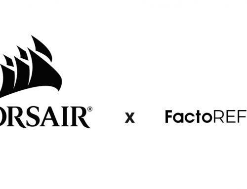 factoREFURB, distributeur certifié et exclusif en France des produits reconditionnés CORSAIR