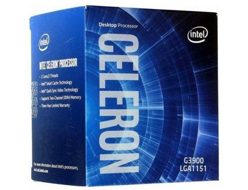 Intel Celeron G3900 (2.8 GHz), pour la bureautique
