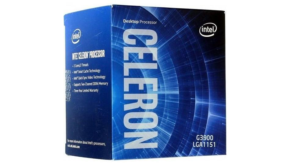 Intel Celeron G3900 - rue montgallet