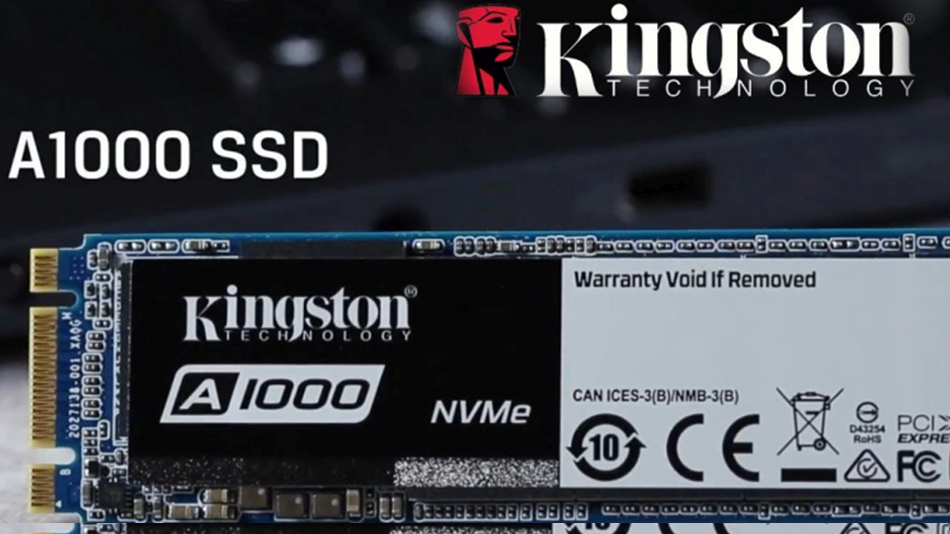 Kingston A1000 M.2 PCIe NVMe 960 Go- rue montgallet