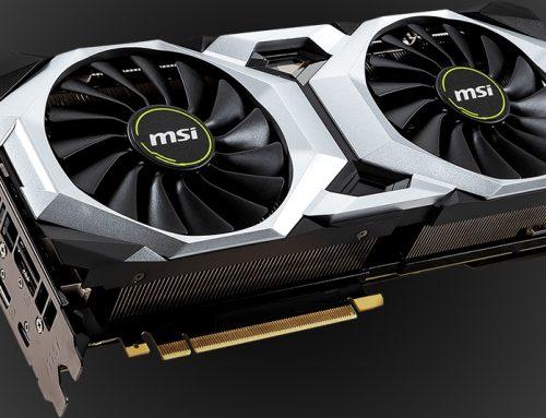MSI GeForce RTX 2080 Ti VENTUS 11G OC, pour jouer en 4K