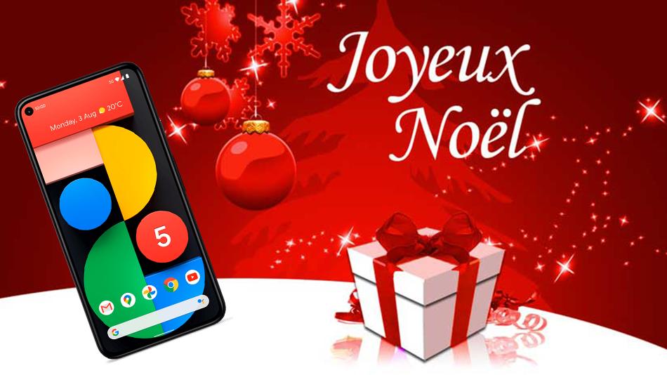 Google Pixel 5 5G 128Go noir - Rue montgallet
