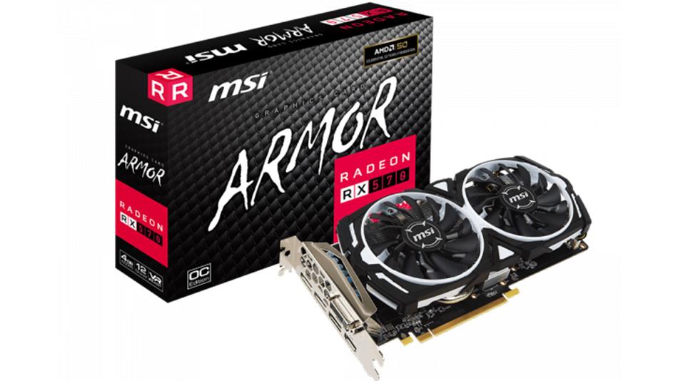 MSI RX 570 ARMOR 4G OC - Rue montgallet