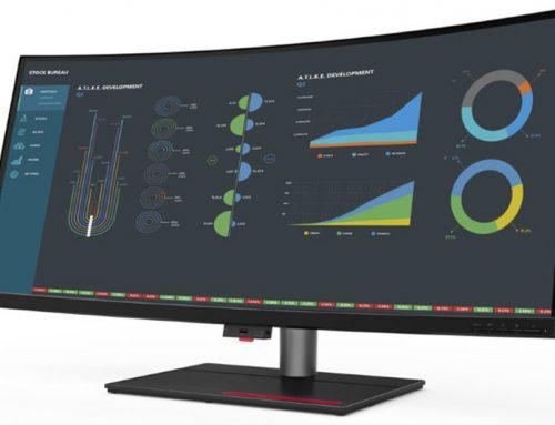 Lenovo ThinkStation P40w-20, un moniteur avec Intel AMT